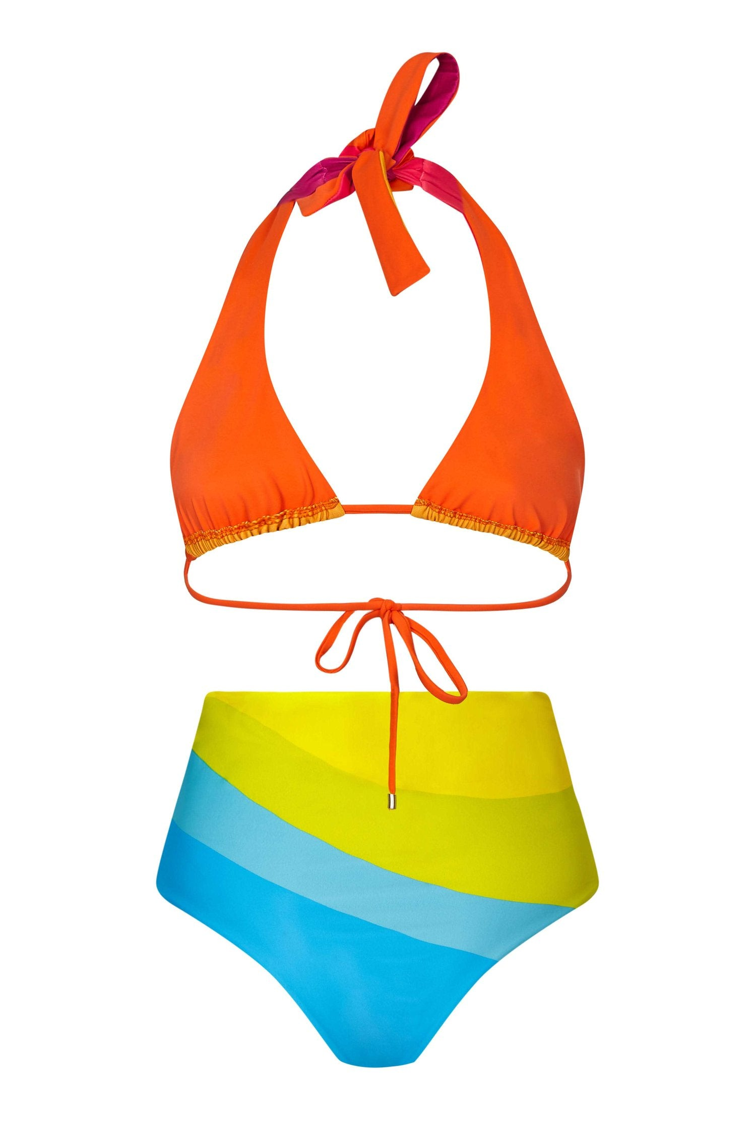 Dance Rainbow Bikini Back