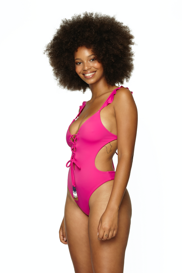 SAVA RUFFLE ONE PIECE