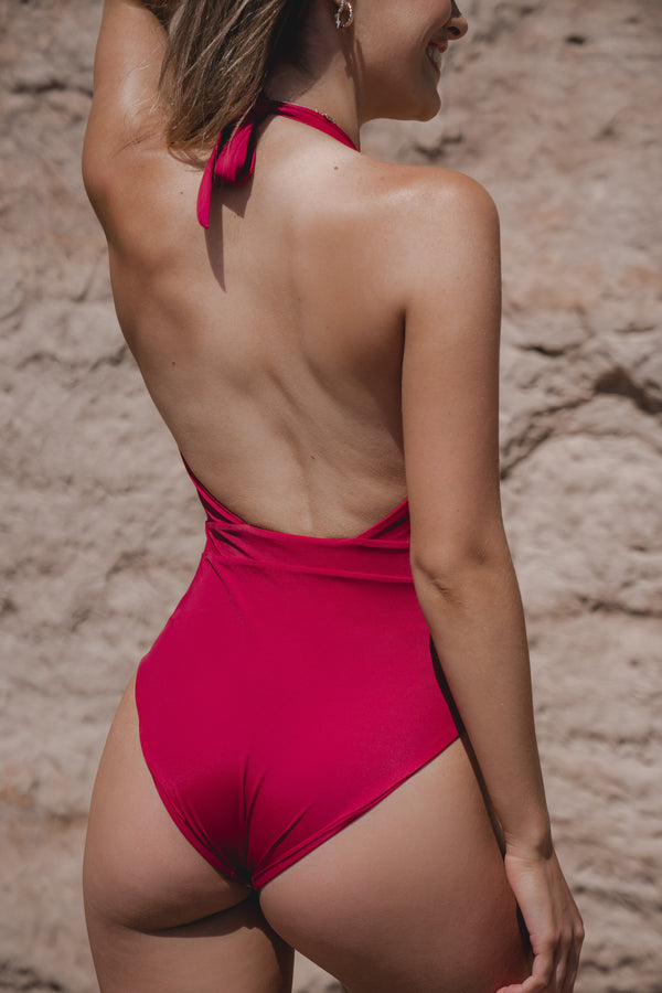 MOANA ONE PIECE - BURGUNDY