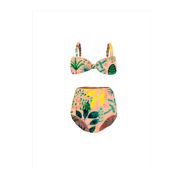 All The Way to Say - Affiche A3 Swim Suit