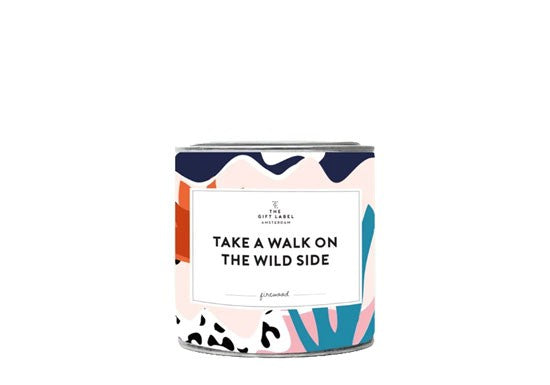 The Gift Label - Take a walk one the wild
