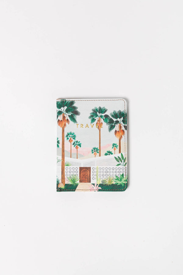All The Way to Say - Passport holder Palmspring