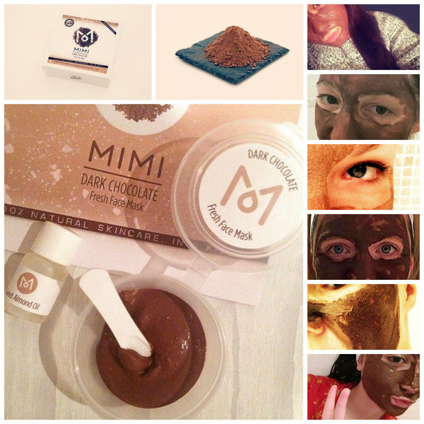 LITTLE DARK CHOCOLATE <Br> Natural Face Mask