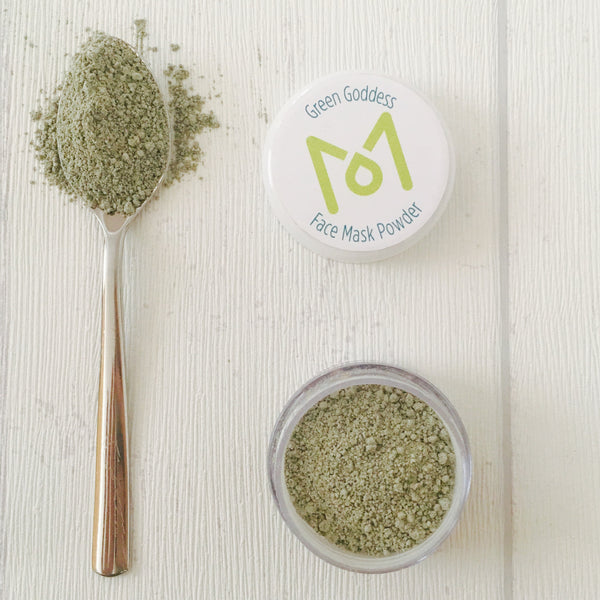 LITTLE GREEN GODDESS <Br> Natural Face Mask