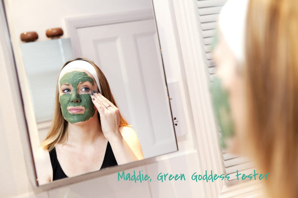 MIMI Green Goddess Fresh Face Mask