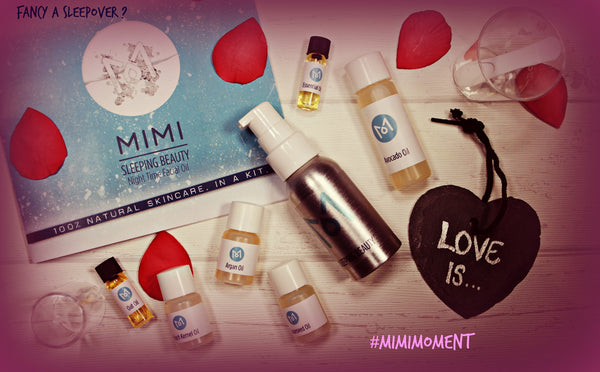 MIMI Sleeping Beauty Night Time Facial Oil valentines