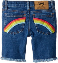Load image into Gallery viewer, Appaman Rainbow Denim Shorts
