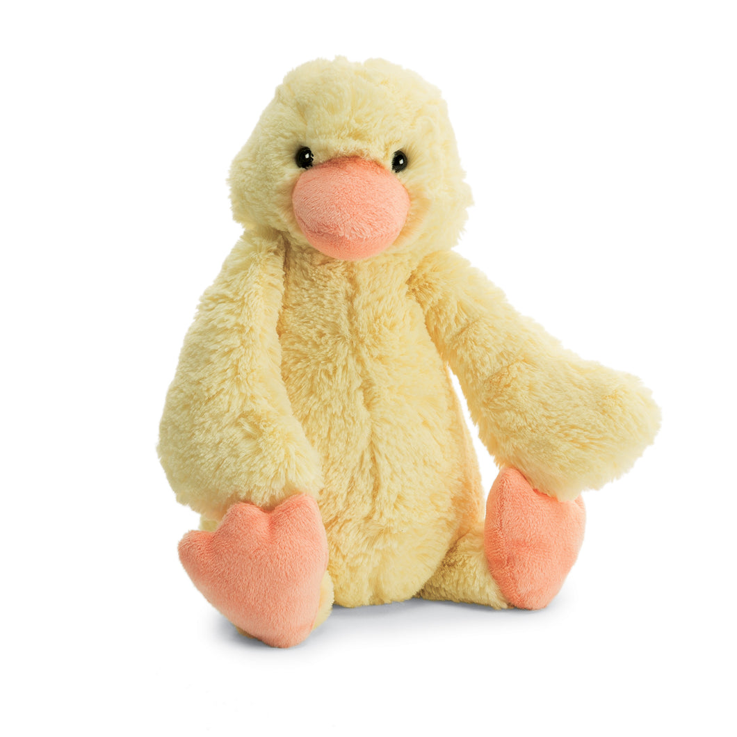 Jellycats Bashfuls Yellow Duckling