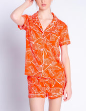 Load image into Gallery viewer, PJ Salvage Leafy Dreams Modal Boxer Short Pj Set