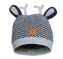 Load image into Gallery viewer, KOMBI Cutie Animal Ears Infant Hat
