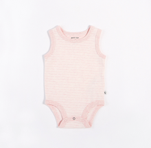 Load image into Gallery viewer, Petit Lem Essentials Sleeveless Tank Diaper shirt with Short set