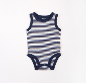 Petit Lem Essentials Sleeveless Tank Diaper shirt with Short set
