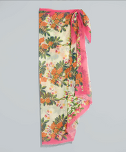 Load image into Gallery viewer, Echo Bluebell Vines Oblong Scarf