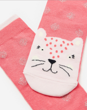 Load image into Gallery viewer, Joules Neat Feet Pink Leopard