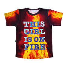 Load image into Gallery viewer, Inchworm Alley This Girl is on Fire Tee