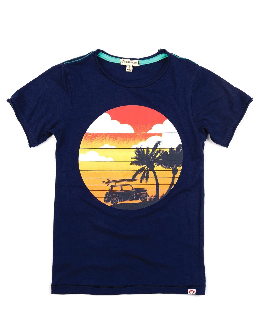 Appaman 70s surf inspired beachy Tee