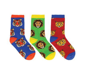 Wild Child Blue 3-pack Kids Sox