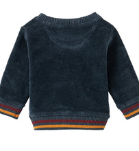 Load image into Gallery viewer, Noppies Velour Baby Sweatshirt