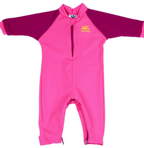 No Zone Hot pink/Dk Rose Baby Swimsuit