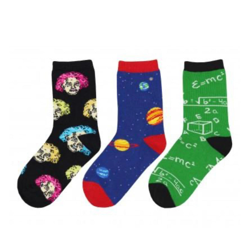 Relatively Awesome 3-Pack Kids Sox