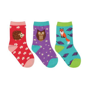 Wood You Be My Friend 3-pack Baby Sox