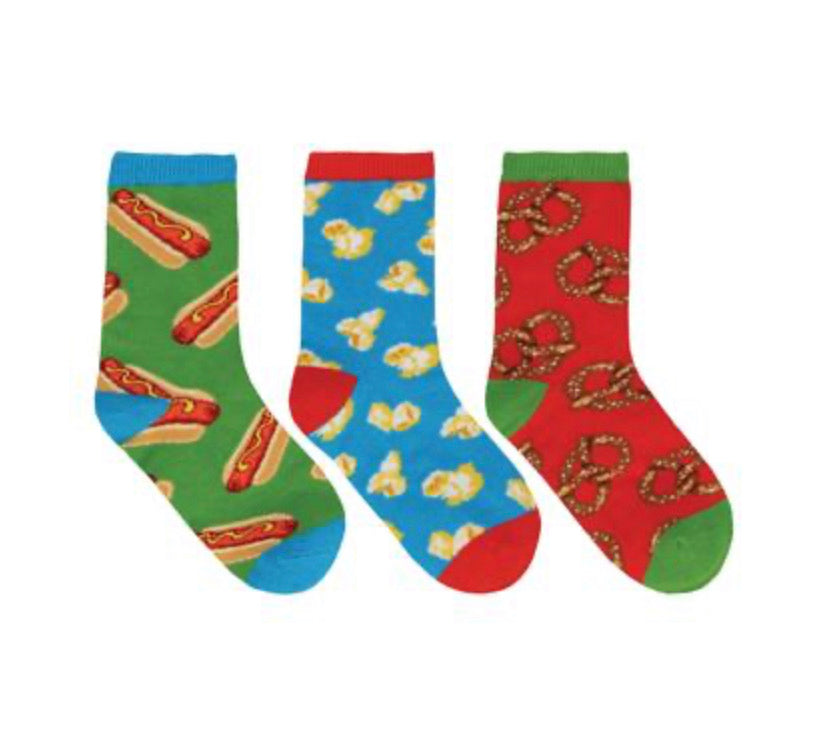 Grab a Bite 3-pack Kids Sox