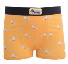 Load image into Gallery viewer, Seagull Yellow Boy's Boxers