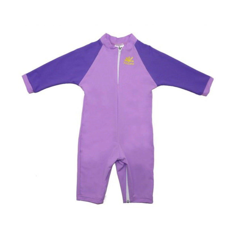 No Zone Lilac/Purple Baby Swimsuit