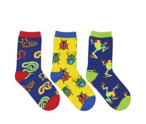 Science Camp 3-pack Kids Sox