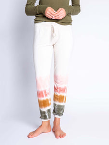 PJ Salvage Banded Pant 'Glamping Life Tie Dye'