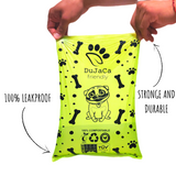 Compostable Dog Poop Bags (Buy box 240 Disposal Baggies, Large size bag 9X13)