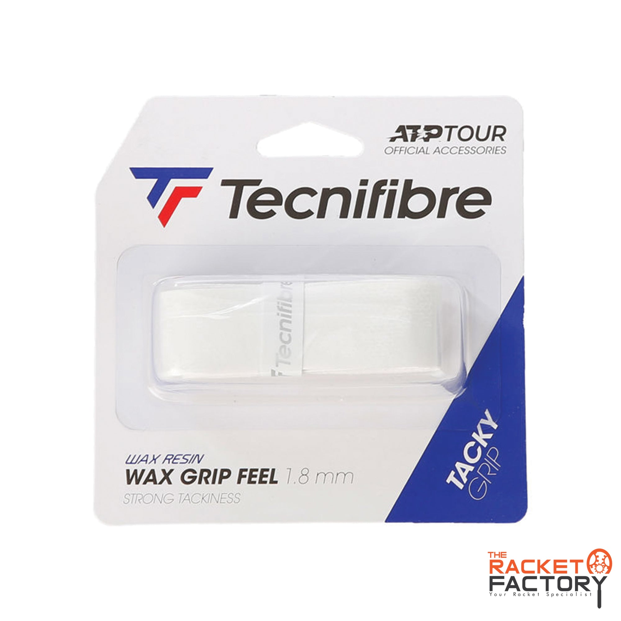 Tecnifibre ATP Wax Grip Feel Replacement Grip - Pack of 1