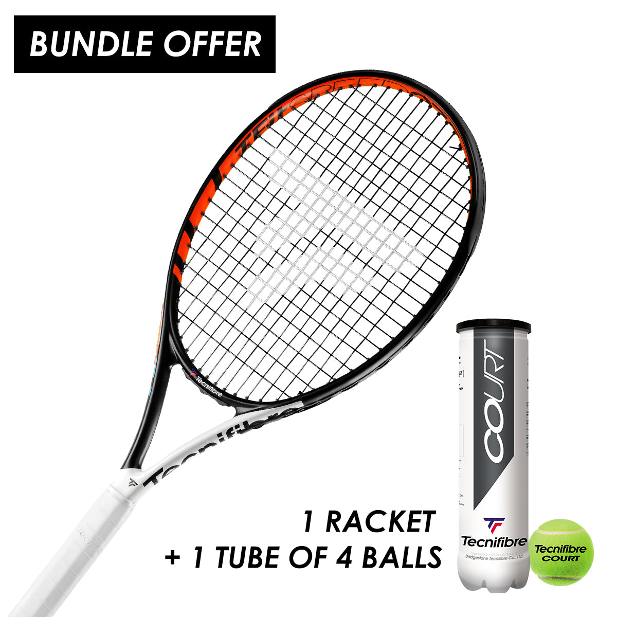 Tecnifibre T Fit Speed (275g) - Starter Pack (Men's)