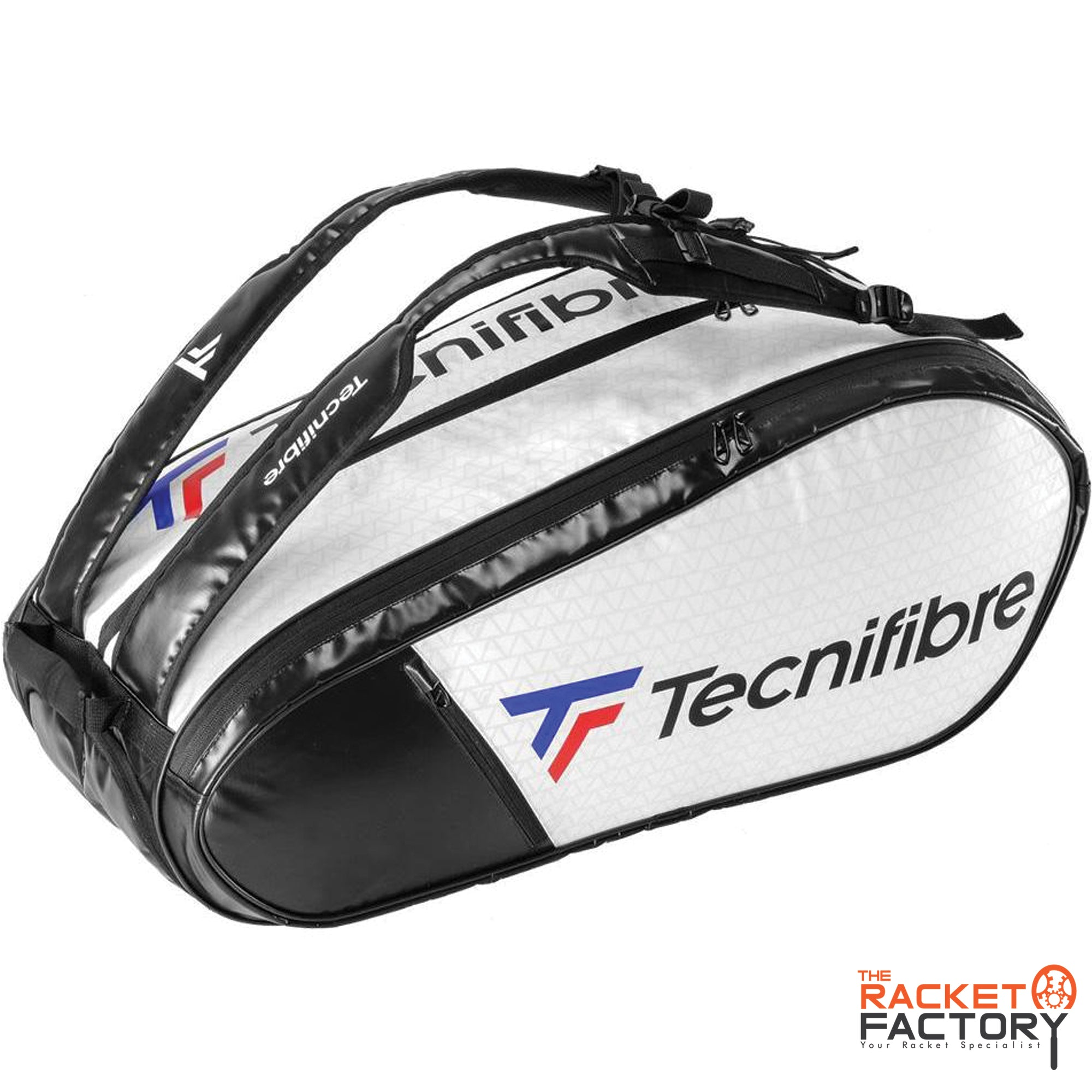 Tecnifibre Tour Endurance RS 12 Racket Bag (White)