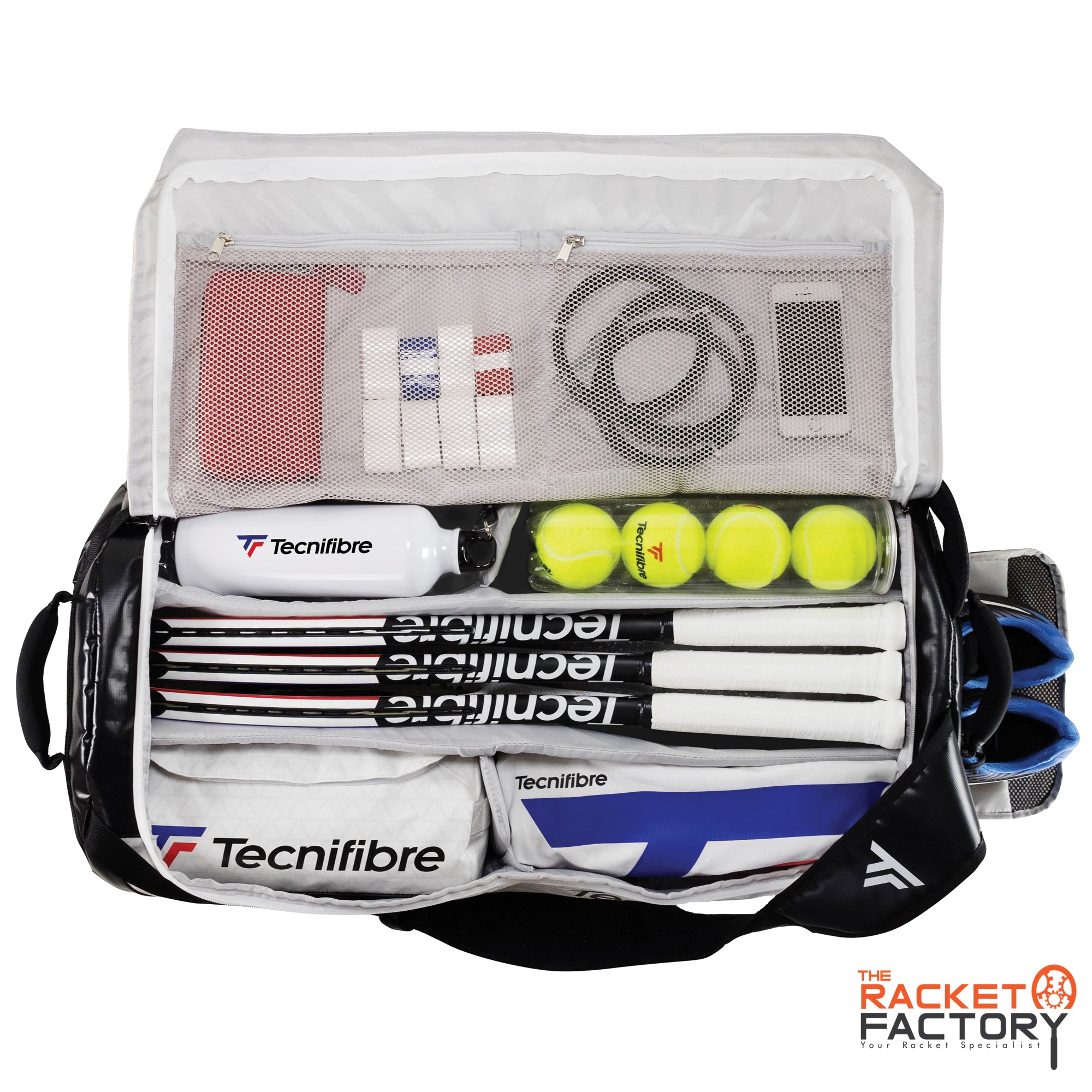 Tecnifibre Tour Endurance RS Rackpack Bag XL (White)