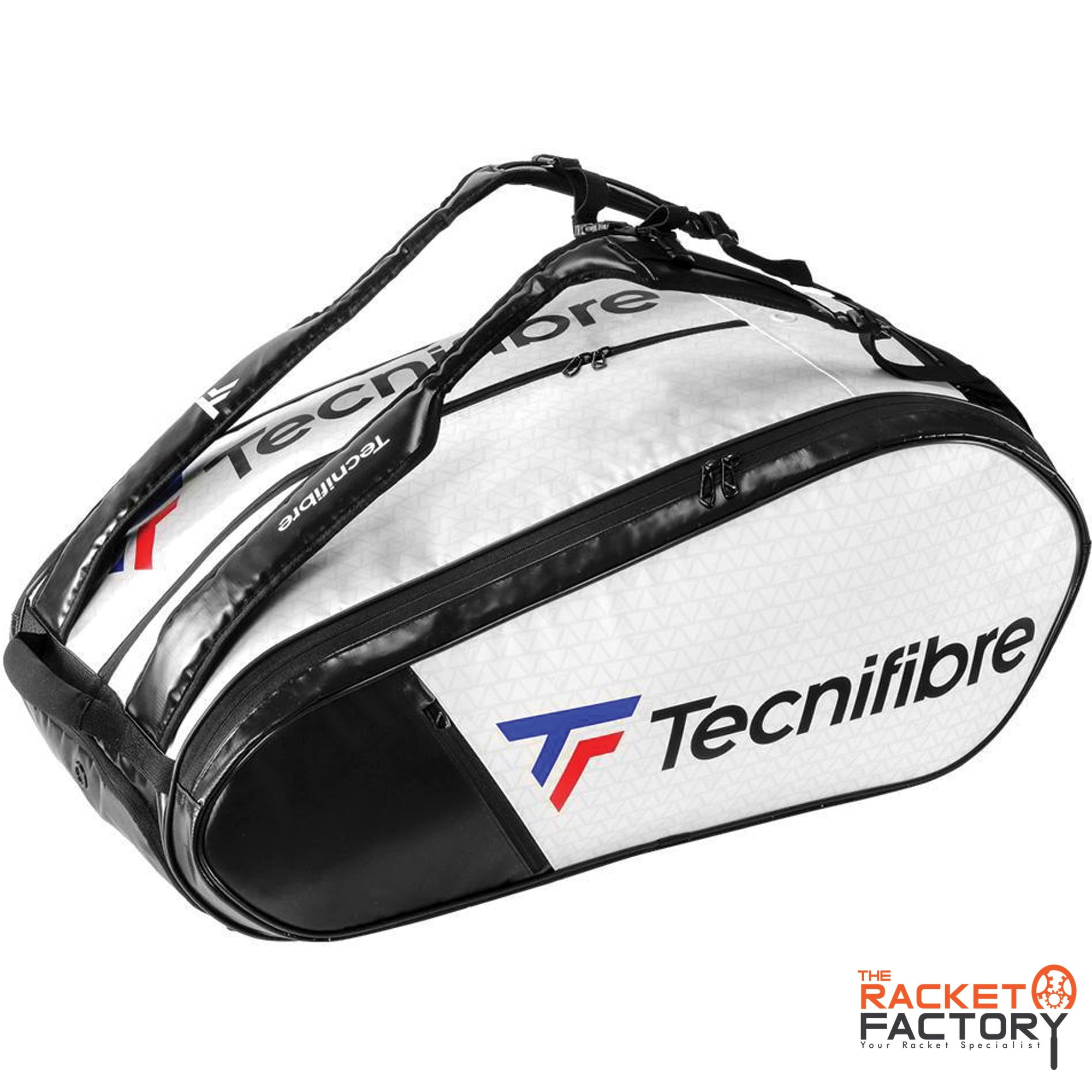 Tecnifibre Tour Endurance RS 15 Racket Bag (White)