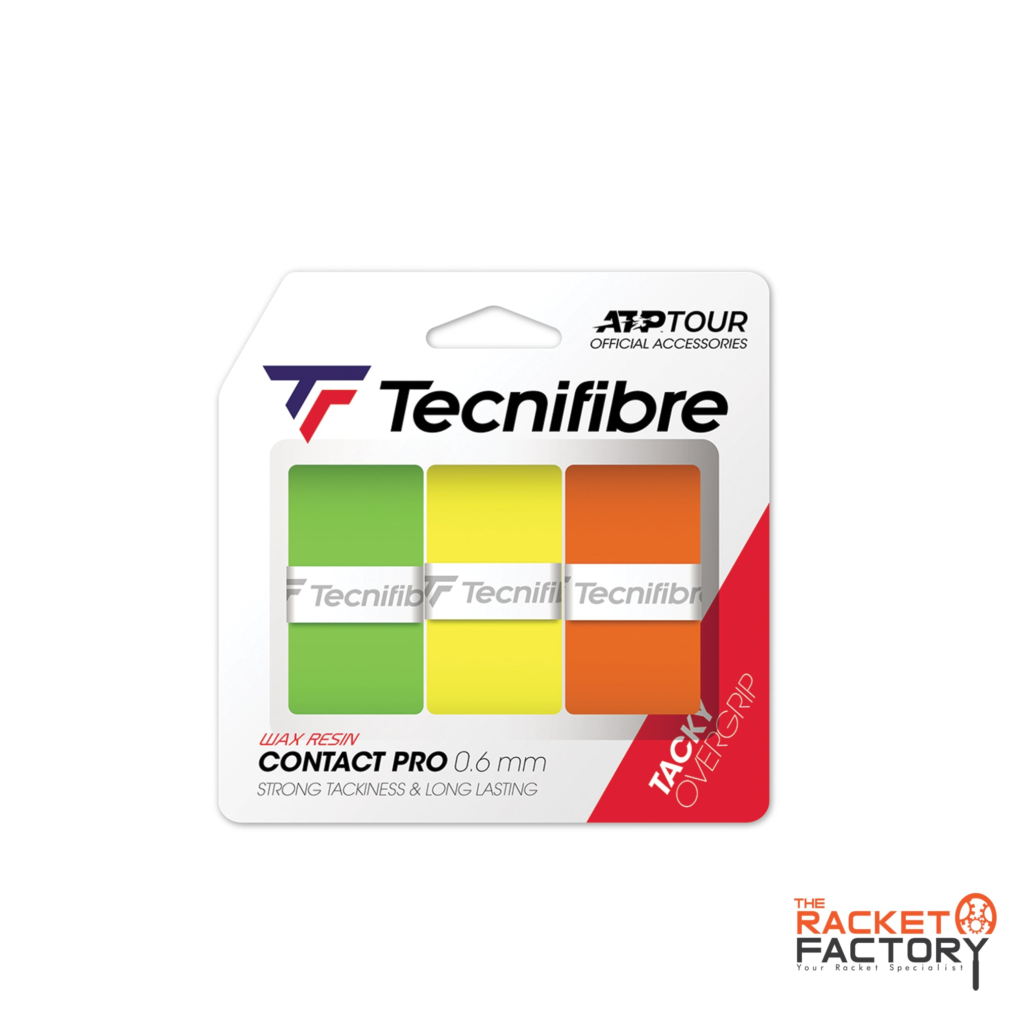 Tecnifibre ATP Contact Pro Over Grip - Pack of 3
