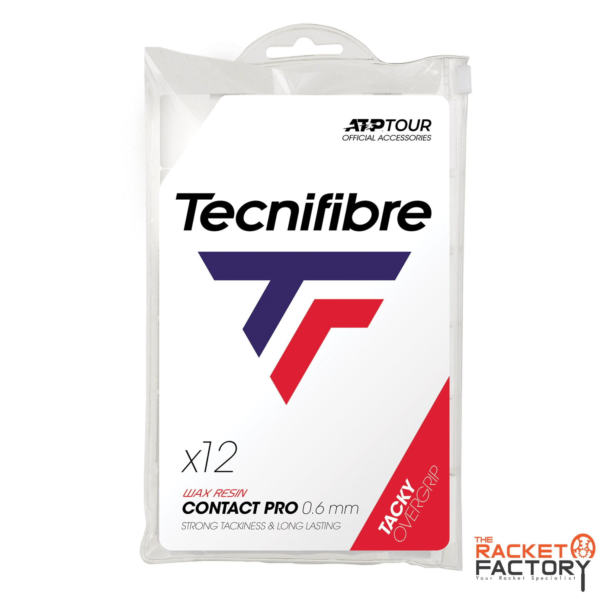 Tecnifibre ATP Contact Pro Over Grip - Pack of 12