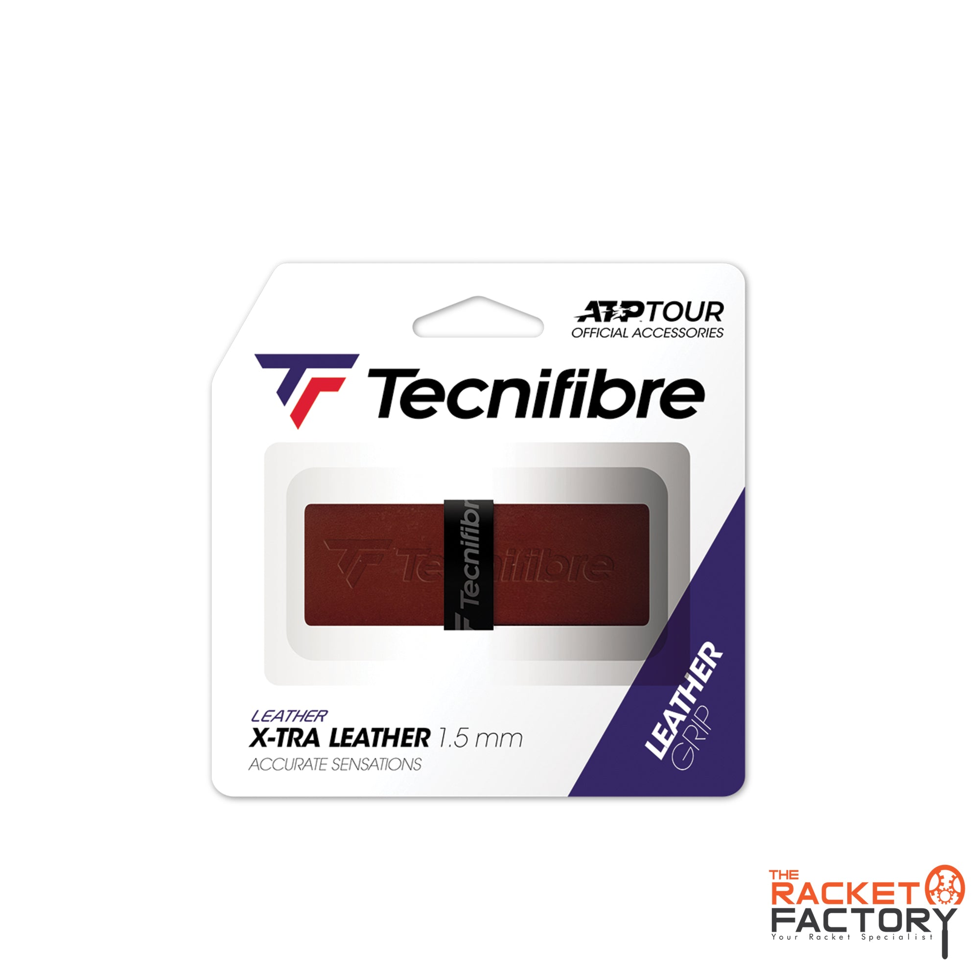 Tecnifibre ATP Leather Replacement Grip - Pack of 1