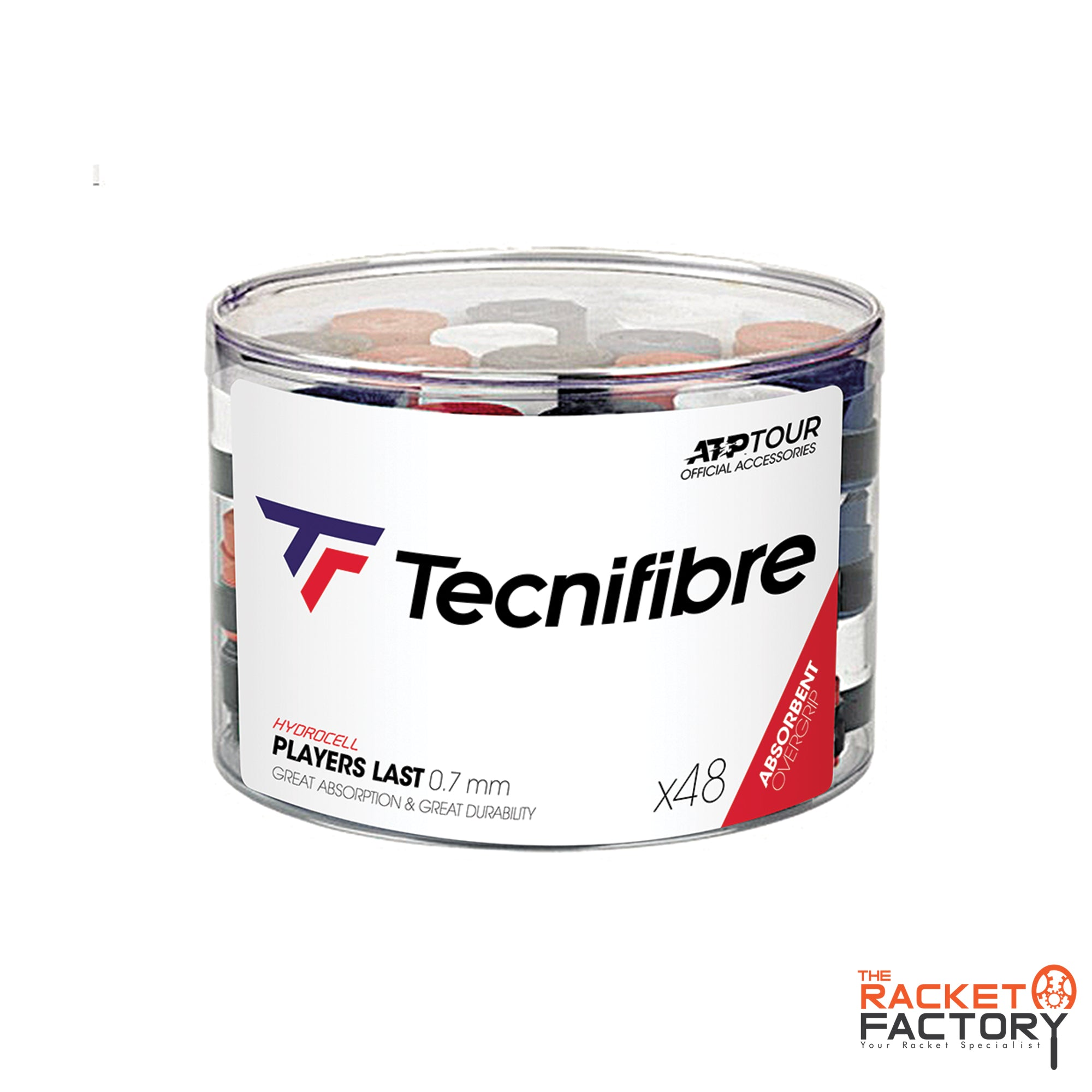 Tecnifibre ATP Players Last Over Grip - Box of 48