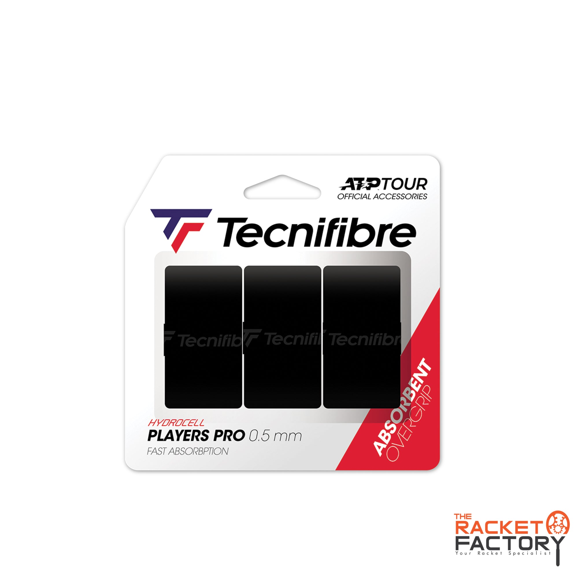 Tecnifibre ATP Players Pro Over Grip - Pack of 3