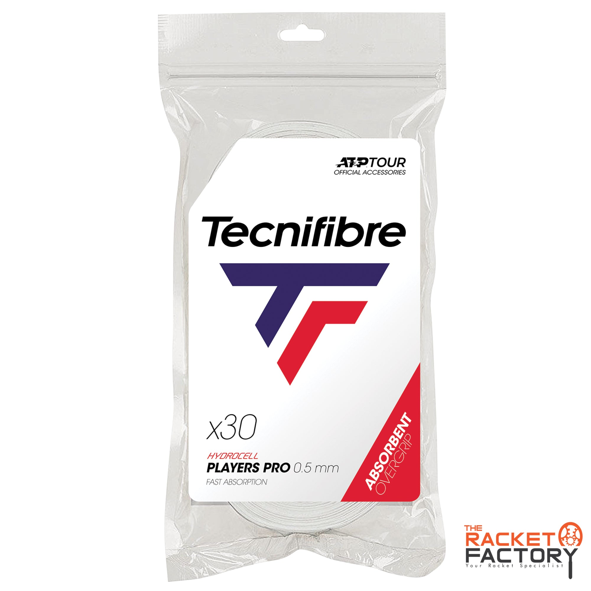 Tecnifibre ATP Players Pro Over Grip - Pack of 30