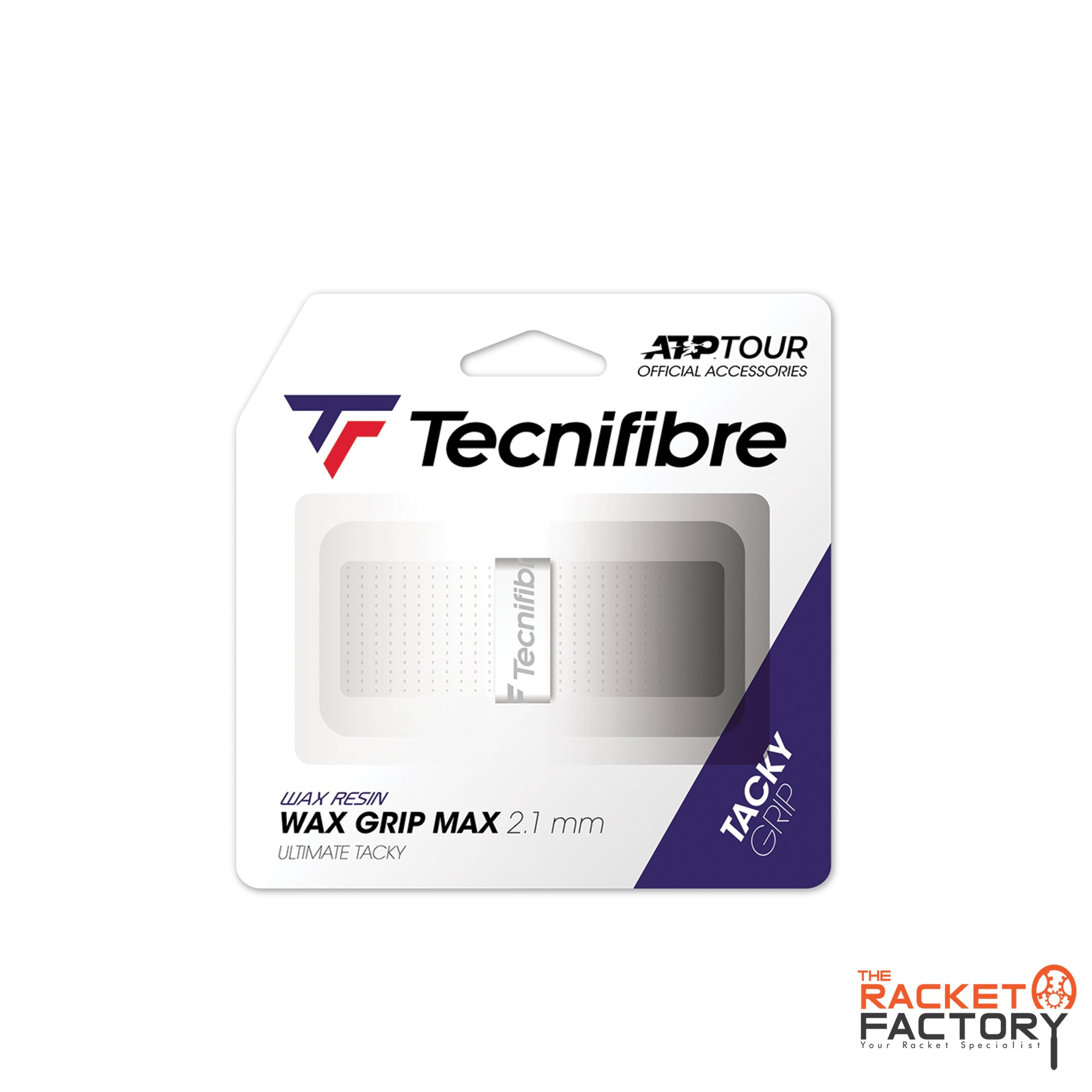 Tecnifibre ATP Wax Grip Max Replacement Grip - Pack of 1