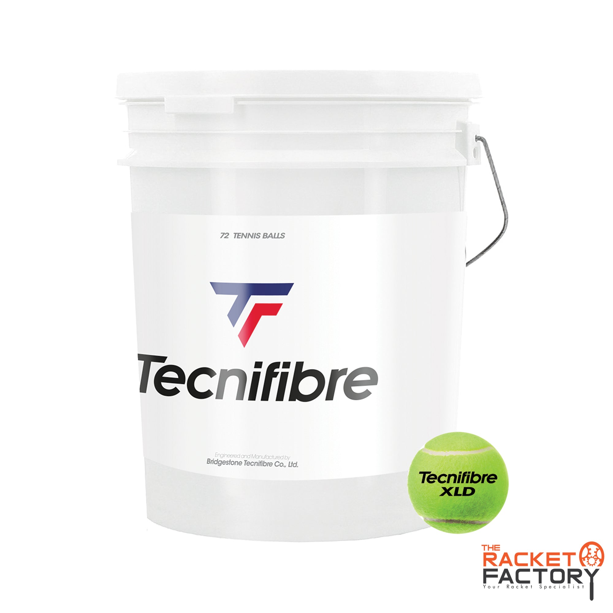 Tecnifibre XLD Ball Bucket of 72