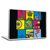 Cool Funky abstract Indian boxes Laptop skin vinyl decals - stuffpanda - 1