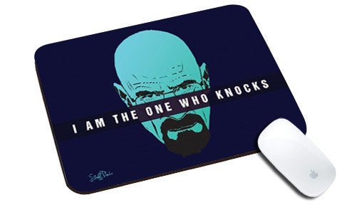 Cool design Breaking Bad natural rubber mouse pad Im the one who