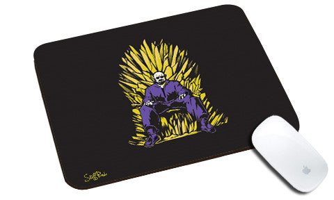 Cool design Breaking Bad Throne natural rubber mouse pad