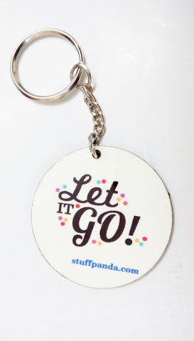 Fashioned, funky, Beautiful Let it Go - Wooden ply Keychains