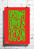 Cool Abstract Motivation Everything happens wall posters, art prints, stickers decals - stuffpanda - 1