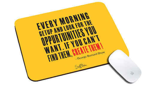 Cool design Motivational Every morning when natural rubber mouse pad - stuffpanda
